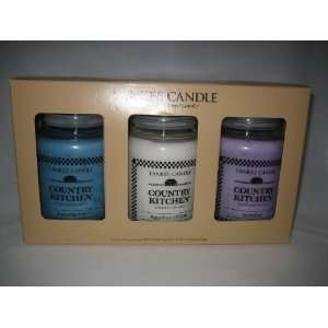 Yankee Candle Company Country Kitchen Jar Candle Set HUGE