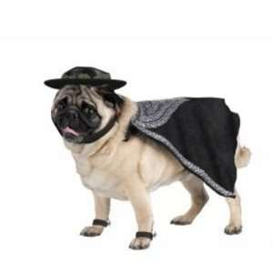 Pet Dog Costume Legend of Zorro Size Large Office