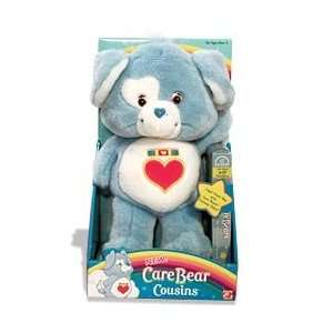 Care Bears Cousins Loyal Heart Dog Plush With Video (VHS