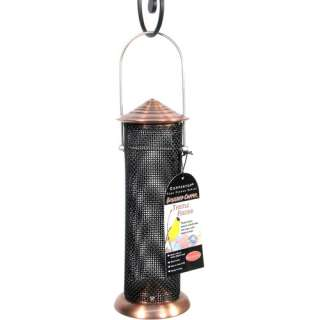 WoodLink Mini Bird Feeder, Brushed Copper Garden Center