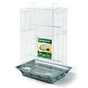 Clean Life Tall Bird Cage   Green & Black