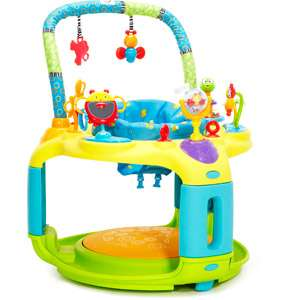 Bright Starts   Backyard Bounce A Bout Activity Center