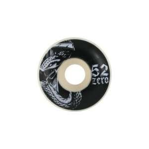 Zero Motorbreath Snake Skateboard Wheels   52mm 99a (Set of 4)
