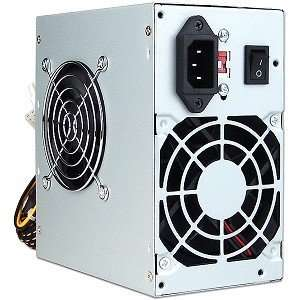 A Power 500W 20+4 Pin Dual Fan SATA/ATX Power Supply with